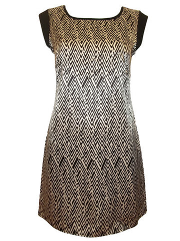 Jacquard Mini Dress