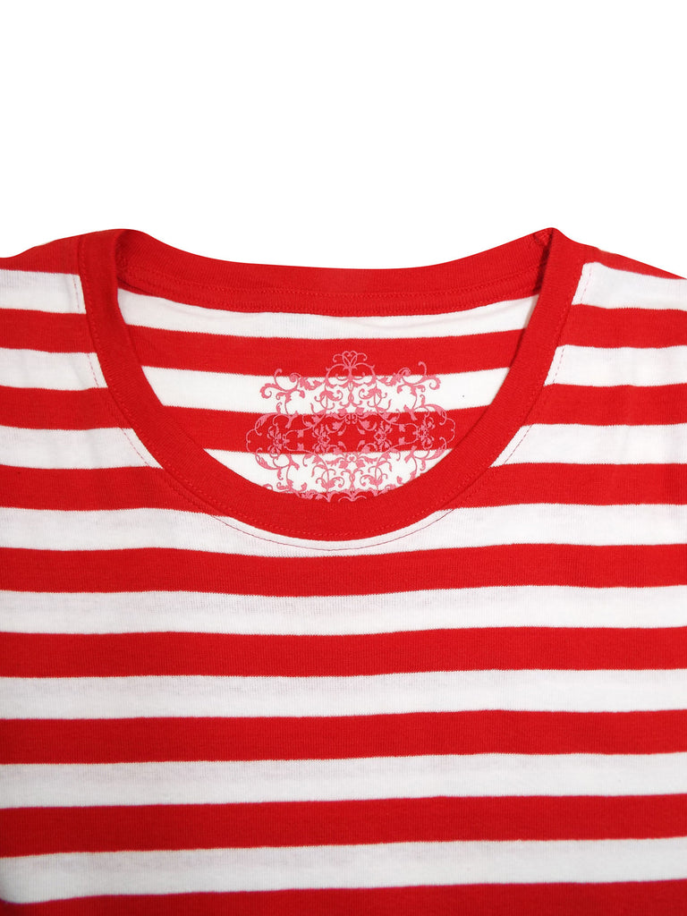 Evans Red Striped T Shirt