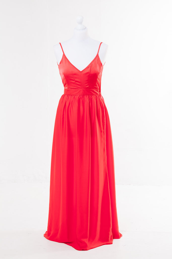 Halter Neck Maxi Dress - The Dress Box Collection
