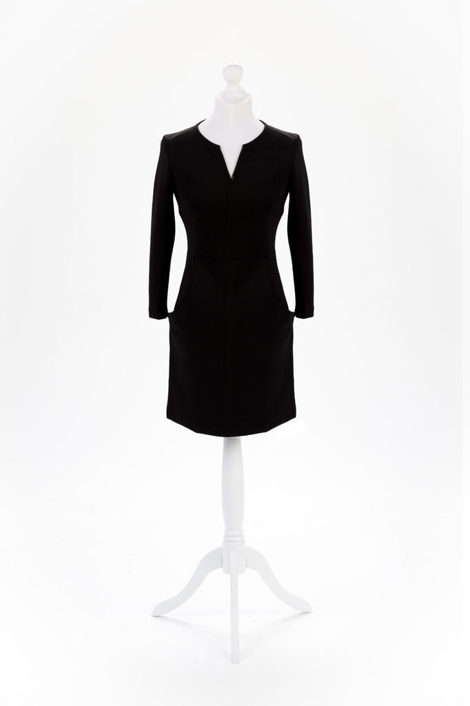 Zip Sleeve Shift Dress The Dress Box Collection - Front