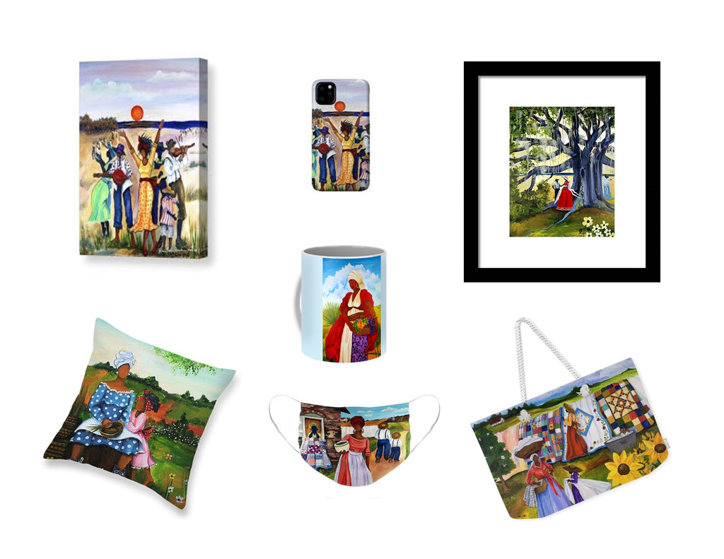 OPEN EDITION PRINTS, NOTE CARDS, SPECIALTY ITEMS, (Do not order here. Click link below to be redirected to site).
