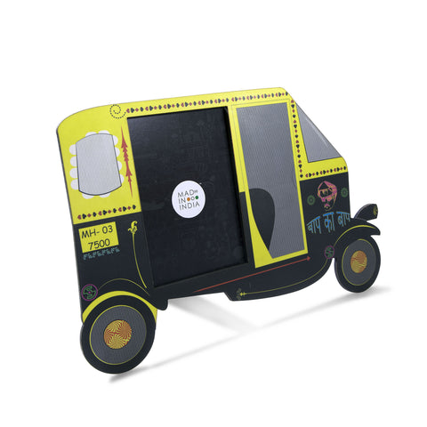 "Auto Rikshaw Photo Frame (4"" x 6"")"