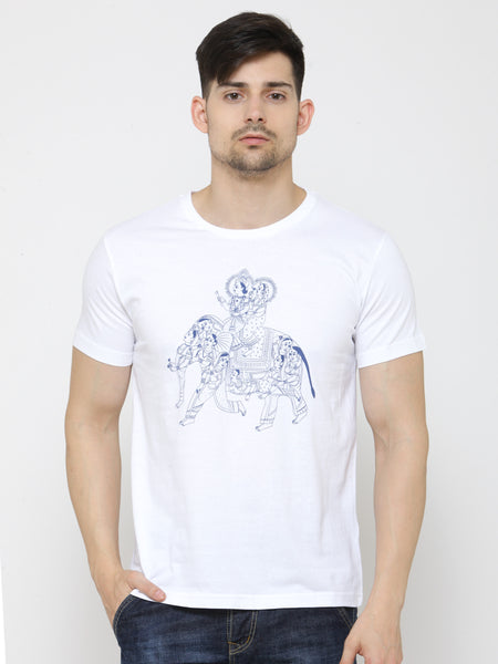 Coolyug Radhe Krishna Men's T-Shirt