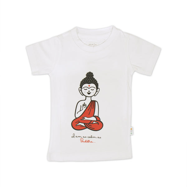 Cute Buddha Kids T-shirt