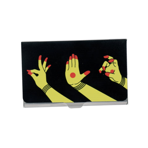 Hastamudra Visiting Card Holder