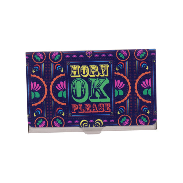 Horn OK Visiting Card Holder