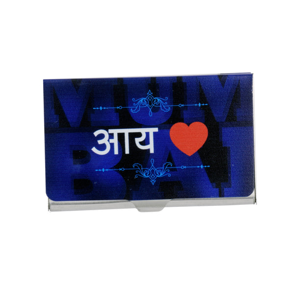 I Love Mumbai Visiting Card Holder