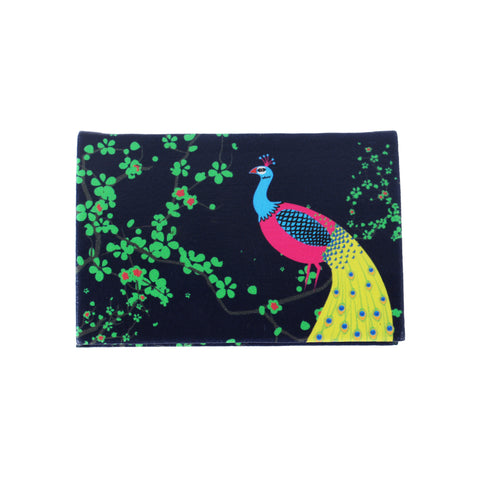 Peacock Visiting Card Holder PU
