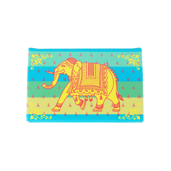 Elephant Visiting Card Holder PU