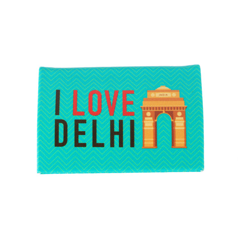 I Love Delhi Visiting Card Holder PU