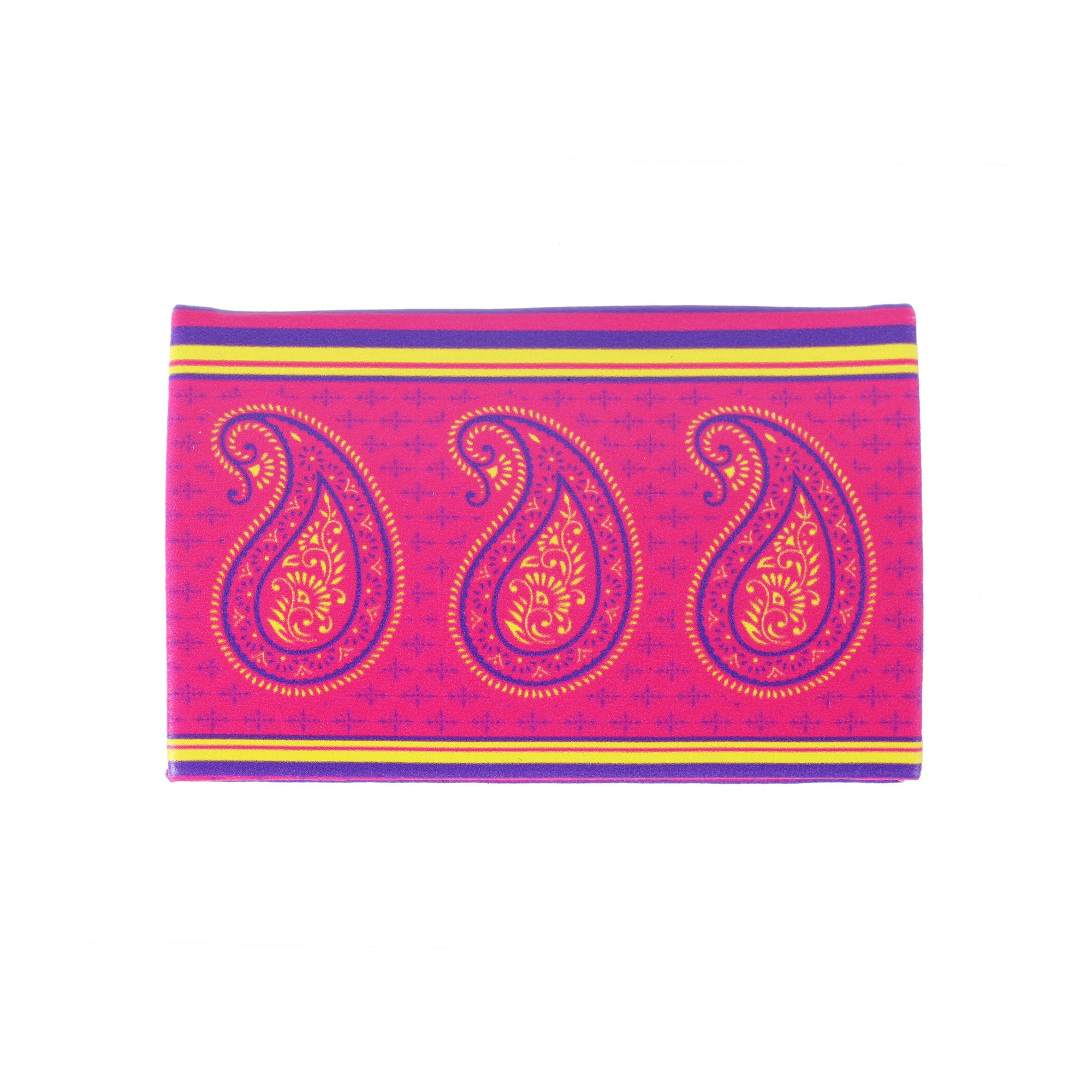 Paisely visiting card holder pu mad in india paisely visiting card holder pu reheart Choice Image