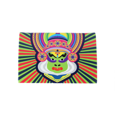 Kathakali Mask Visiting Card Holder PU