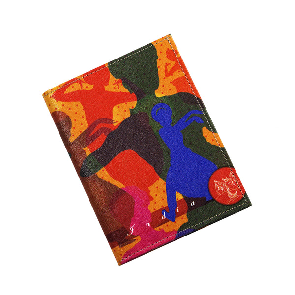 Bharatnatyam Dancer Passport Holder