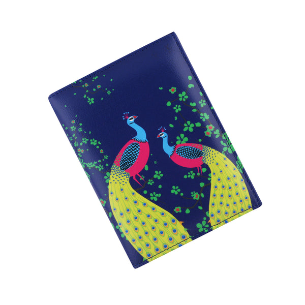 Peacock Passport Holder
