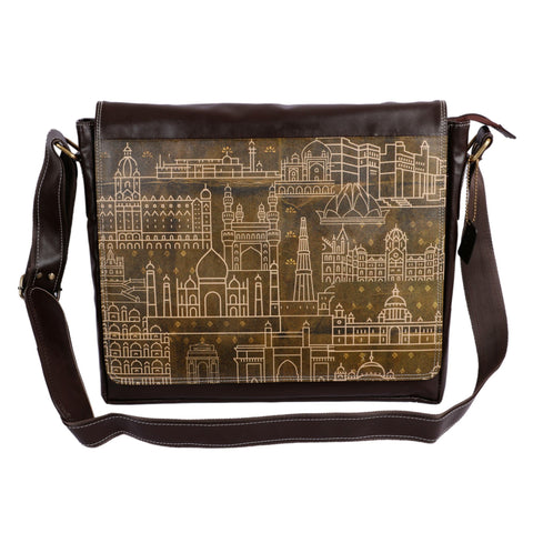 India Monuments Laptop Bag