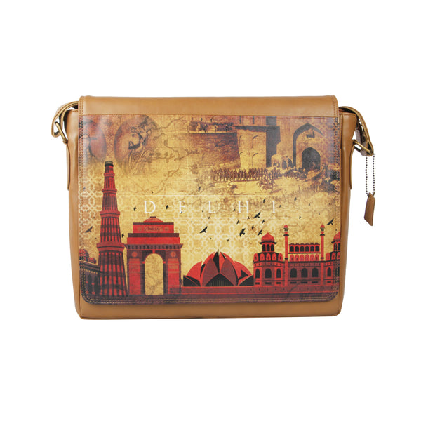 Delhi Skyline Laptop Bag