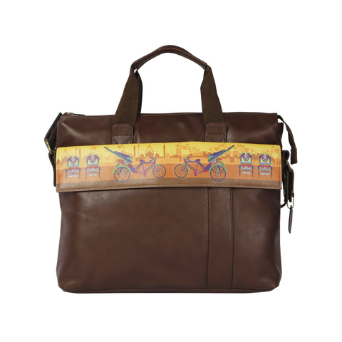 Delhi Cycle Rickshaw Laptop Bag