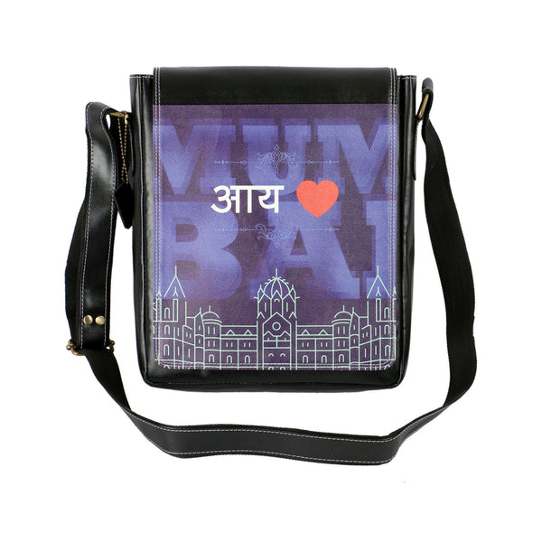I Love Mumbai Sling Bag