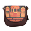 Rajasthan Carving Art Sling Bag Round