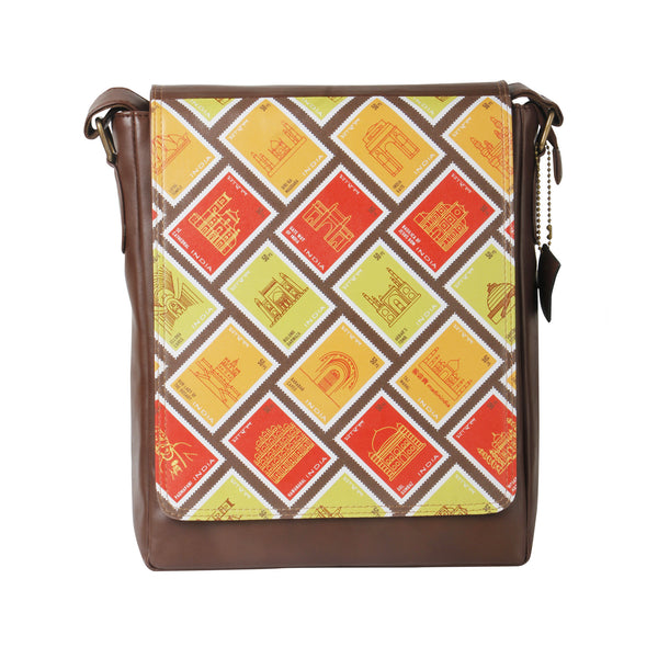 Indian Stamps Sling Bag
