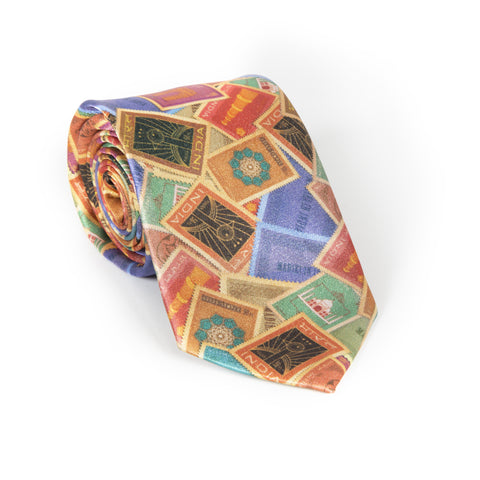 Indian Stamp Neck Tie