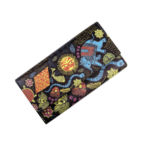 Madhubani Womens Clutch