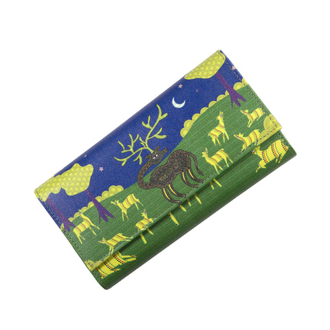 Gond Art Womens Clutch