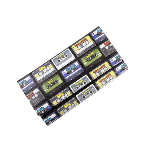 Audio cassette Womens Clutch