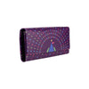 Geometric Peacock Women's Clutch