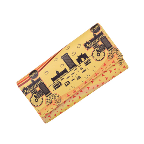 Mumbai Monuments Women's Clutch