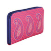 Paisley Zipper Women's Clutch