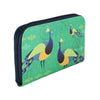 Peacock Zipper Women's Clutch