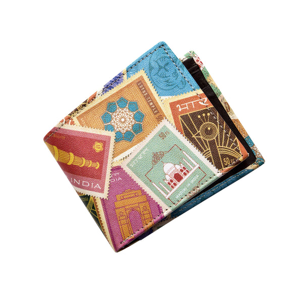 Indian Stamps Wallet
