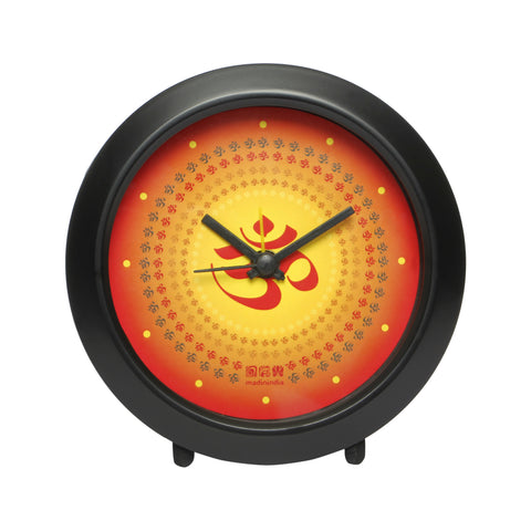 OM Table Clock Round