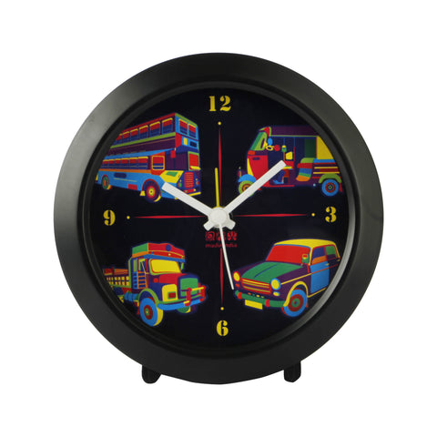 Transport Table Clock Round