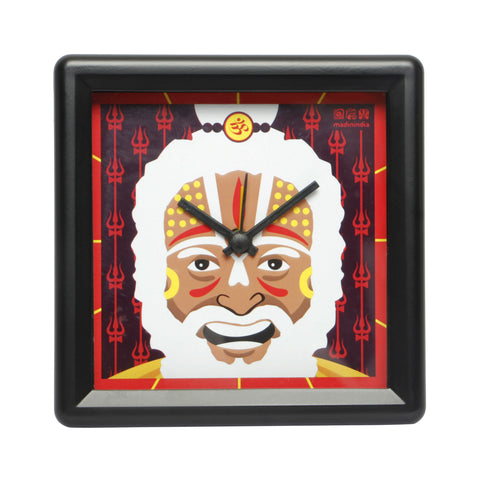 Sadhu Table Clock Square