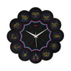 Zodiac Signs Wall Clock