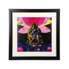 "Murlidhar on Lotus Wall Frame - 18"" x 18"""