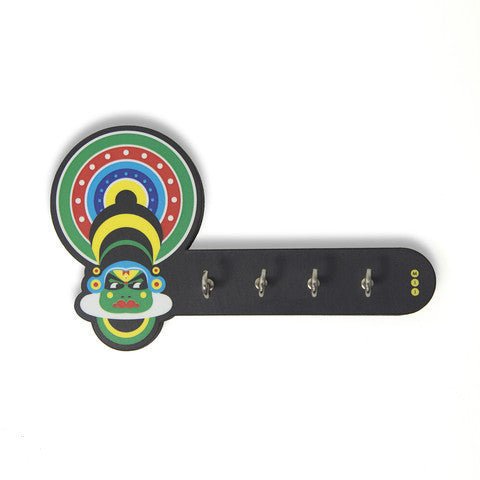 Kathakali Key Holder