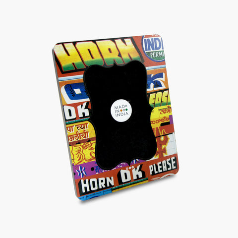 "Horn OK Photo Frame (4"" x 6"")"