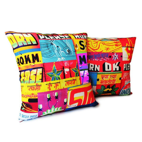 Horn Ok Cushion Covers - Set of 2