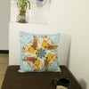 Garba Cushion Cover