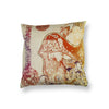 Lady with a Sitar Cushion Cover