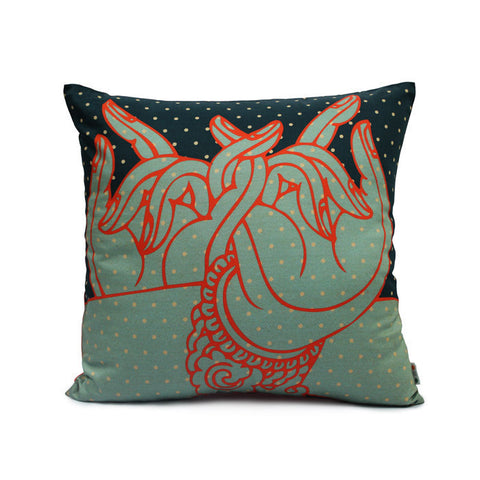 Hastamudra Cushion Cover