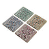 Art of Agra Coaster Set - Set of 4 with Stand