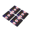 Kamal Ka phool Coaster - Set of 4 with Stand