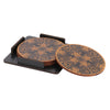 Mix Intruments Coaster Set - Set of 4 with Stand