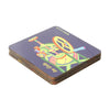 Ice Gola Coaster Set - Set of 4 with Stand