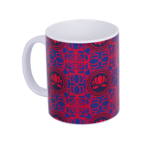 Lotus collage Coffee Mug