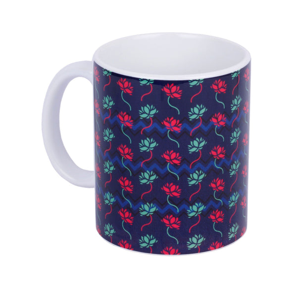 Lotus Repeat Coffee Mug